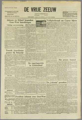 de Vrije Zeeuw 1963-12-30