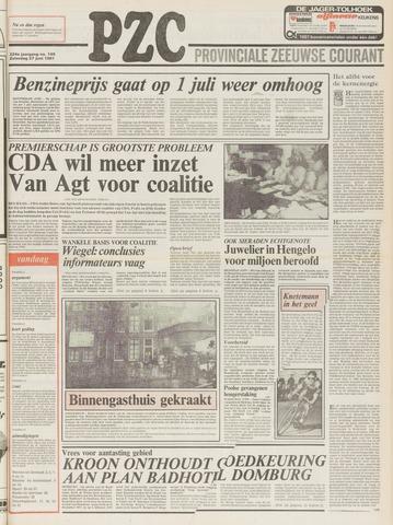 Provinciale Zeeuwse Courant 1981-06-27