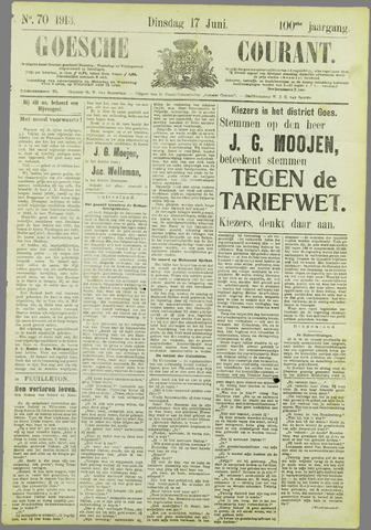 Goessche Courant 1913-06-17