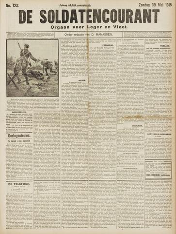 De Soldatencourant. Orgaan voor Leger en Vloot 1915-05-30