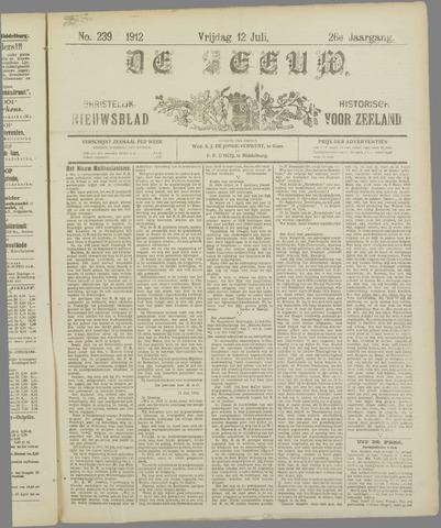 De Zeeuw. Christelijk-historisch nieuwsblad voor Zeeland 1912-07-12