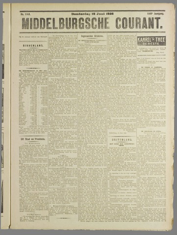 Middelburgsche Courant 1925-06-18