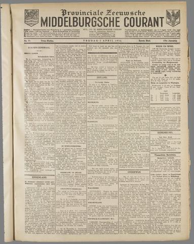 Middelburgsche Courant 1932-04-01