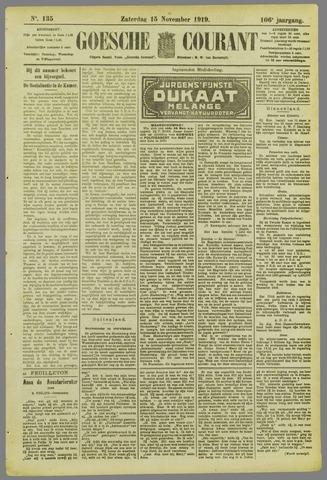 Goessche Courant 1919-11-15