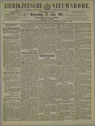 Zierikzeesche Nieuwsbode 1911-06-21
