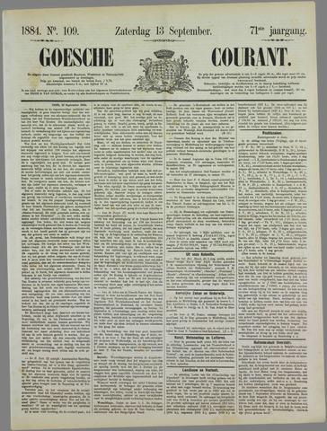 Goessche Courant 1884-09-13