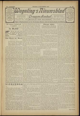 Zeeuwsch Nieuwsblad/Wegeling's Nieuwsblad 1931-09-11