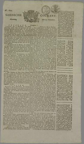 Goessche Courant 1822-11-25