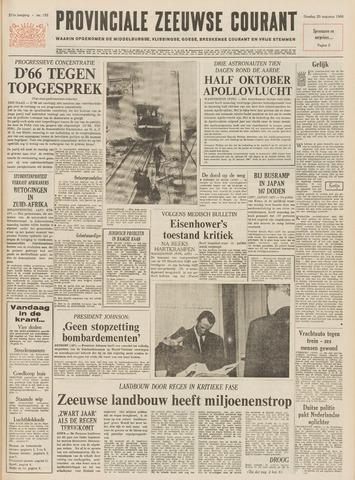 Provinciale Zeeuwse Courant 1968-08-20