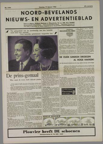 Noord-Bevelands Nieuws- en advertentieblad 1966-02-19