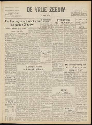 de Vrije Zeeuw 1952-04-21