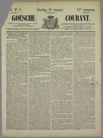Goessche Courant 1885-01-20