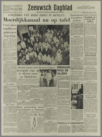 Zeeuwsch Dagblad 1960-02-22