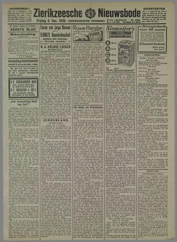 Zierikzeesche Nieuwsbode 1930-12-05