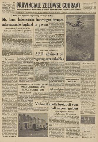 Provinciale Zeeuwse Courant 1958-09-27