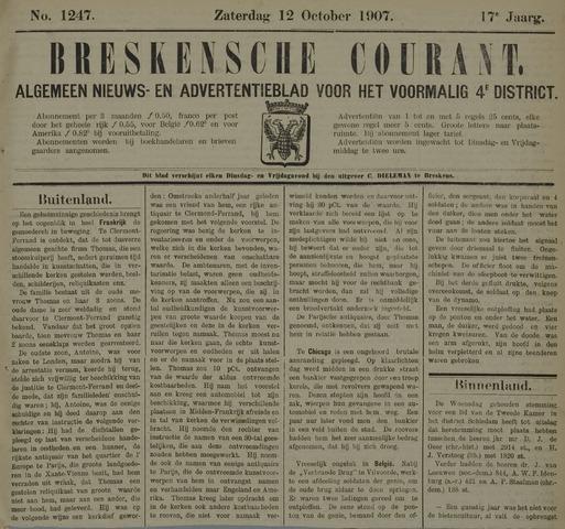 Breskensche Courant 1907-10-12