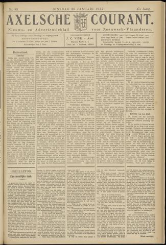 Axelsche Courant 1932-01-26