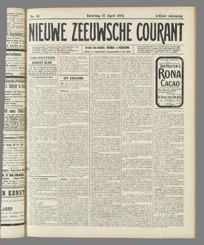 Nieuwe Zeeuwsche Courant 1912-04-27