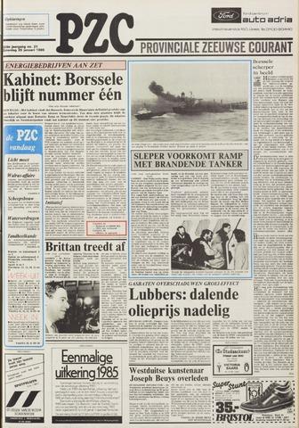 Provinciale Zeeuwse Courant 1986-01-25