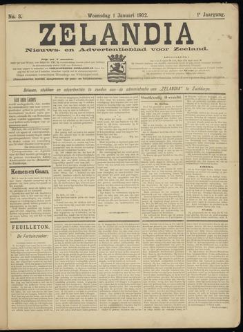 Zelandia. Nieuws-en advertentieblad voor Zeeland | edities: Het Land van Hulst en De Vier Ambachten 1902-01-01