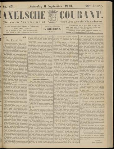 Axelsche Courant 1913-09-06