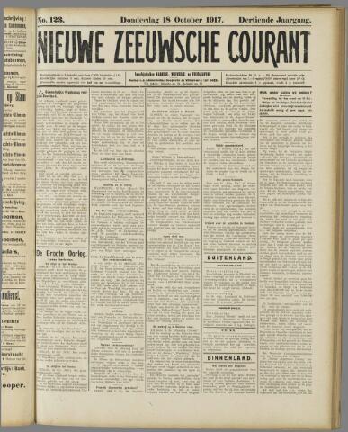 Nieuwe Zeeuwsche Courant 1917-10-18