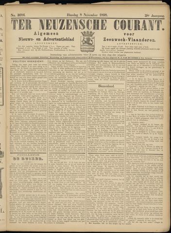 Ter Neuzensche Courant. Algemeen Nieuws- en Advertentieblad voor Zeeuwsch-Vlaanderen / Neuzensche Courant ... (idem) / (Algemeen) nieuws en advertentieblad voor Zeeuwsch-Vlaanderen 1898-11-08