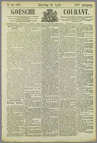 Goessche Courant 1915-04-24