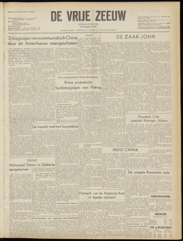 de Vrije Zeeuw 1954-07-27