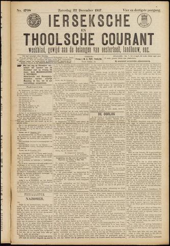 Ierseksche en Thoolsche Courant 1917-12-22