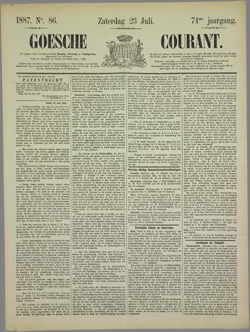 Goessche Courant 1887-07-23
