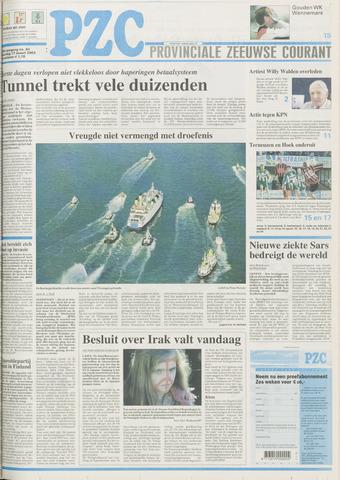 Provinciale Zeeuwse Courant 2003-03-17