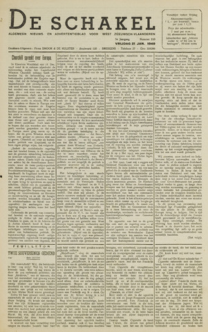 De Schakel 1949-01-21