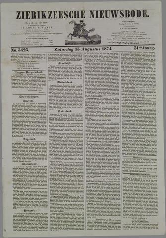Zierikzeesche Nieuwsbode 1874-08-15