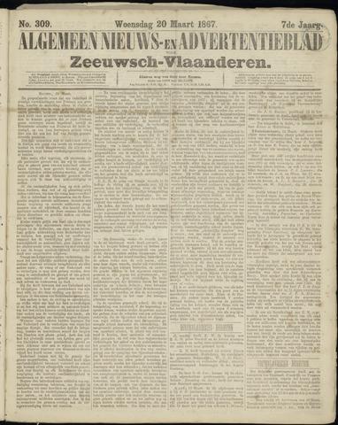 Ter Neuzensche Courant. Algemeen Nieuws- en Advertentieblad voor Zeeuwsch-Vlaanderen / Neuzensche Courant ... (idem) / (Algemeen) nieuws en advertentieblad voor Zeeuwsch-Vlaanderen 1867-03-20