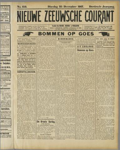 Nieuwe Zeeuwsche Courant 1917-12-25