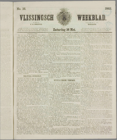 Vlissings Weekblad 1863-05-16