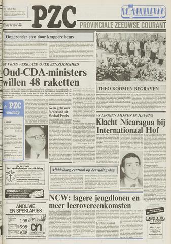 Provinciale Zeeuwse Courant 1984-04-10