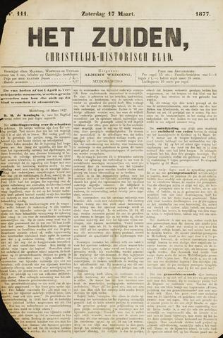 Het Zuiden, Christelijk-historisch blad 1877-03-17