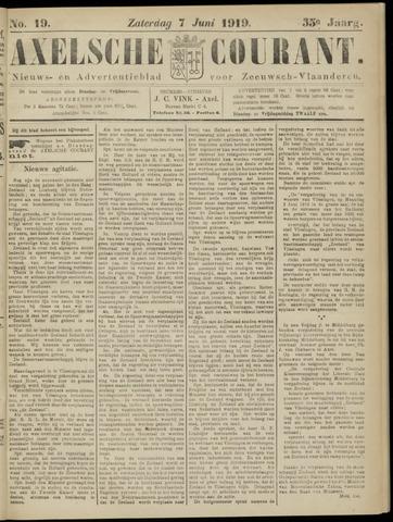 Axelsche Courant 1919-06-07