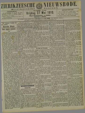 Zierikzeesche Nieuwsbode 1910-05-27