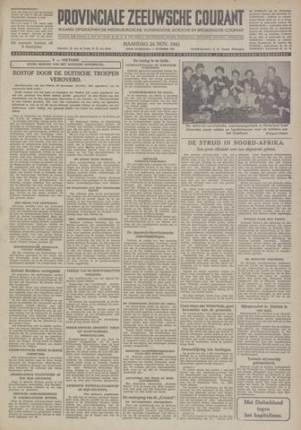 Provinciale Zeeuwse Courant 1941-11-24