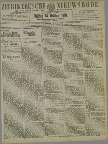 Zierikzeesche Nieuwsbode 1910-10-14