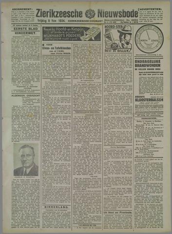 Zierikzeesche Nieuwsbode 1934-11-09