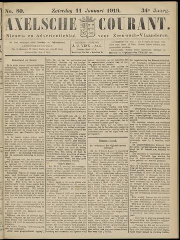 Axelsche Courant 1919-01-11