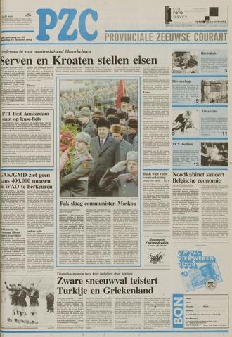 Provinciale Zeeuwse Courant 1992-02-24