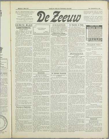 De Zeeuw. Christelijk-historisch nieuwsblad voor Zeeland 1937-06-04