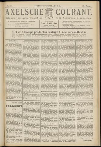 Axelsche Courant 1940-02-09