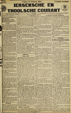 Ierseksche en Thoolsche Courant 1924-02-15