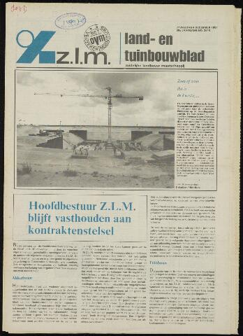 Zeeuwsch landbouwblad ... ZLM land- en tuinbouwblad 1981-12-04